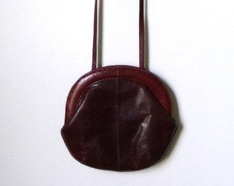 Susan Gail Made in Spain Snakeskin Cross Body Bag
