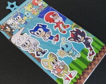 Sonic Sticker Sheet