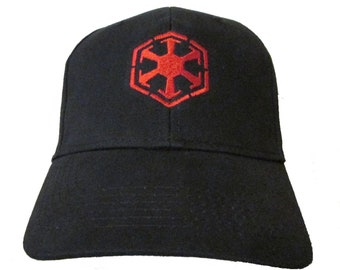 Star Wars - Sith Order Logo in RED Adult Baseball Hat OSFA   FlexFit be9fd4e1bf01
