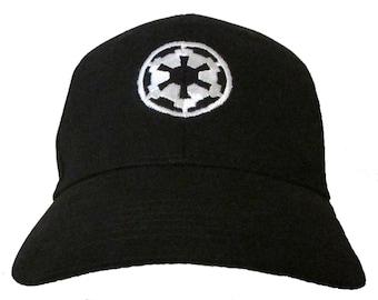 0b67c68ca2394 Star Wars - The Imperial Empire - Logo Adult Baseball Hat OSFA   FlexFit