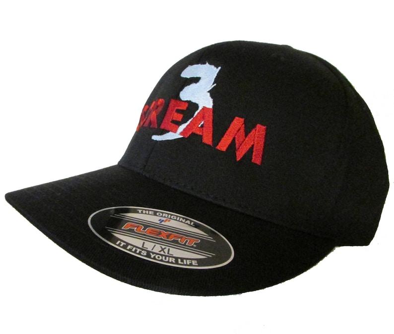 e656ee219c6 Scream 3 Movie Logo Embroidered Baseball Hat Cap Neve