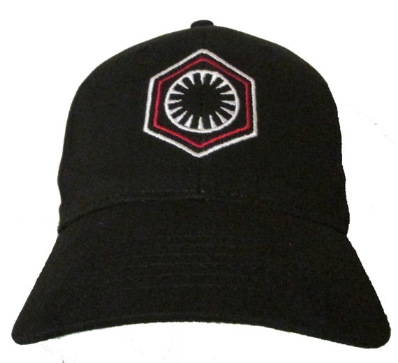 6c678f6bbf9 Star Wars The First Order Logo in RED and WHITE Adult