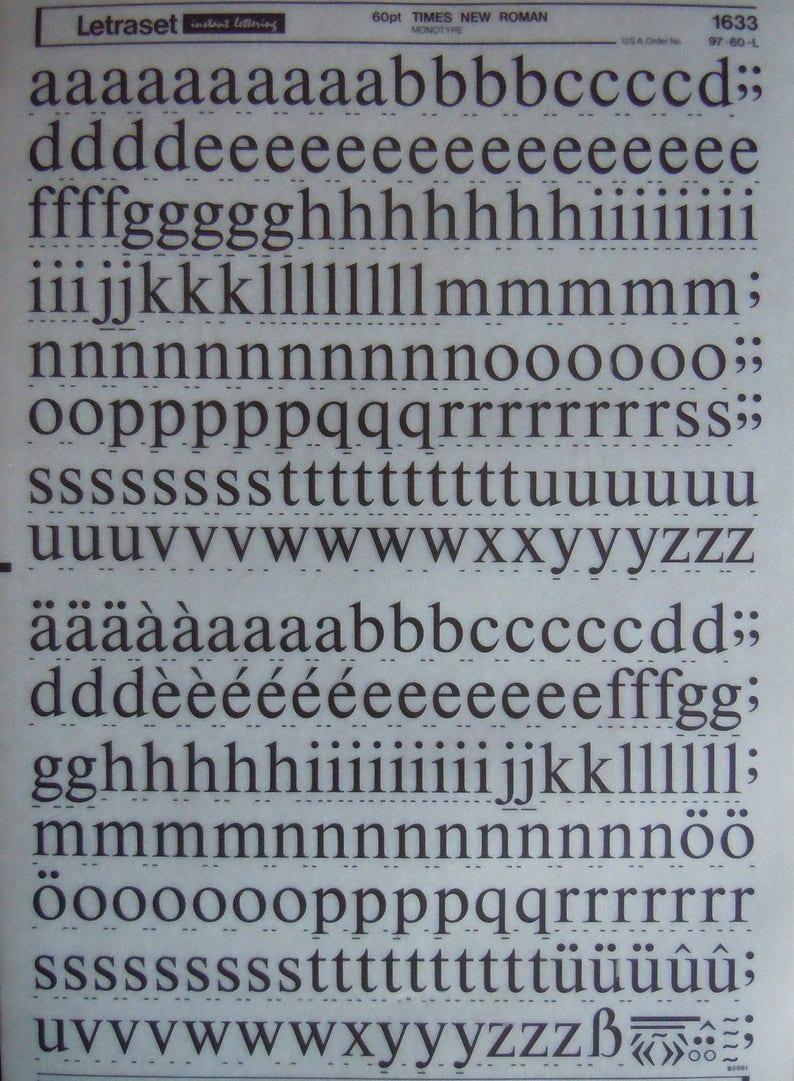 letraset revue font