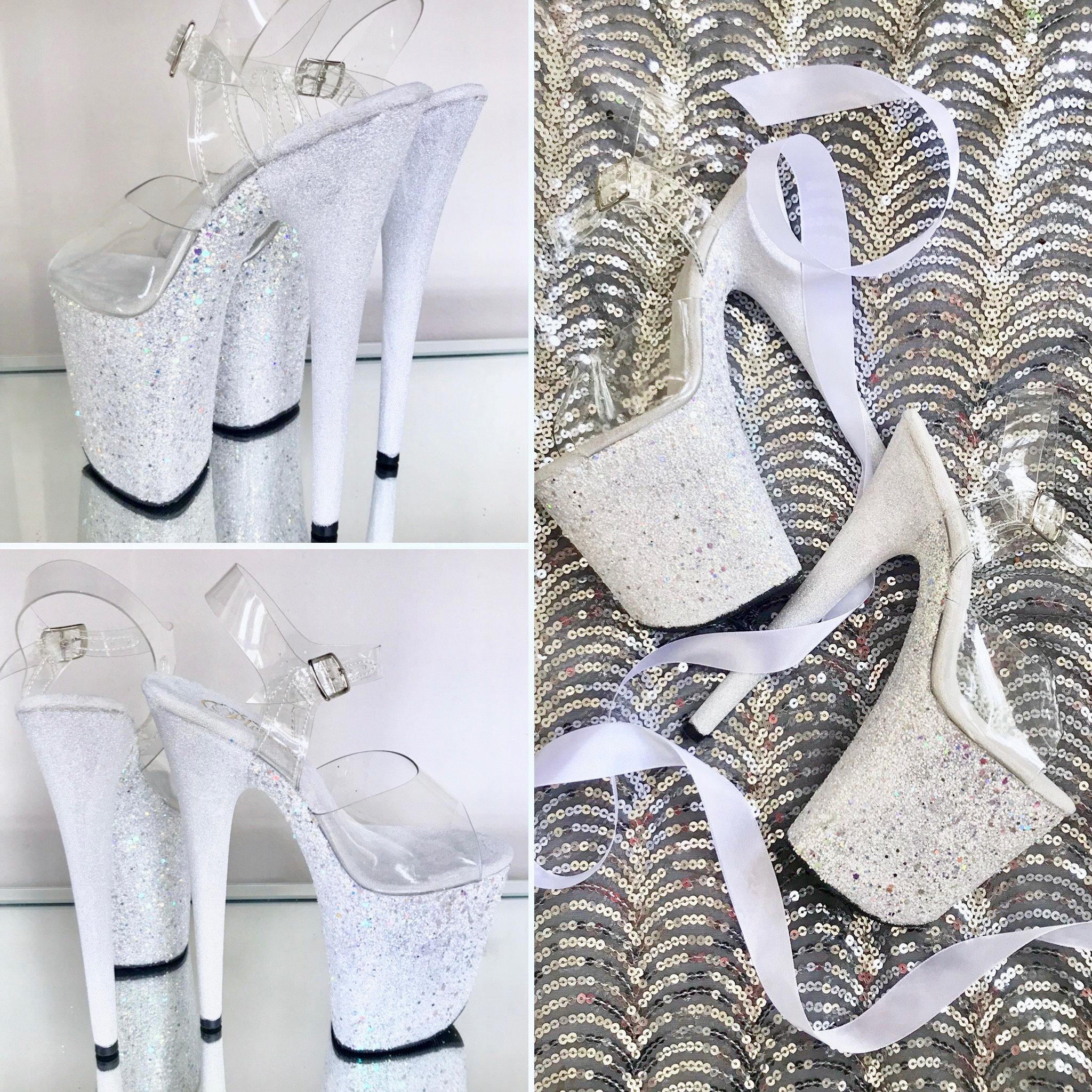 UK 7 Pleaser Detachable Ankle Straps for Stripper Heels 1 Pair S//M Fits UK 2