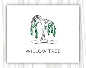 willow tree logo etsy rh etsy com Whispering Willow Tree willow tree logo design