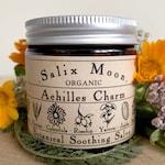 Botanical Healing Salve - Calendula, Yarrow, Plantain, Jojoba & Rosehip - Herbal First Aid - Natural Tattoo Care - Salix Moon Apothecary