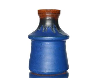 Small Studio Vase in Blue