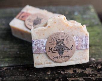 Cedar and Saffron Natural Handmade Soap