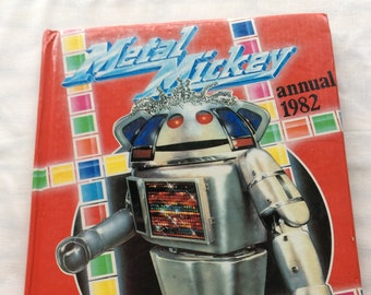 Metal Mickey Annual 1982 Boogie Boogie