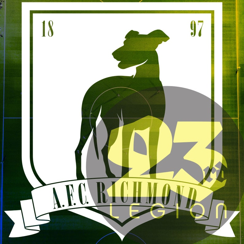 A.F.C. Richmond crest vinyl decal image 0