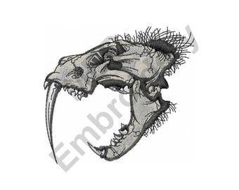 Saber Tooth Skull Etsy