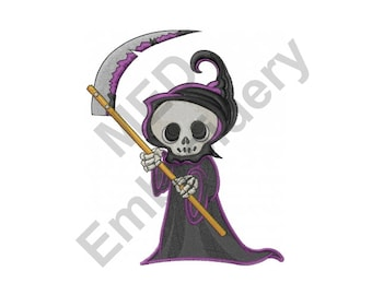 Reaper Embroidery Etsy