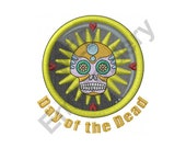 Day Of The Dead Skull - Machine Embroidery Design, Dia De Los Muertos, Machine Embroidery, Embroidery Designs, Embroidery Patterns