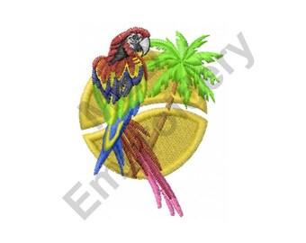 Bird - Machine Embroidery Design, Parrot