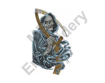 Grim Reaper - Machine Embroidery Design