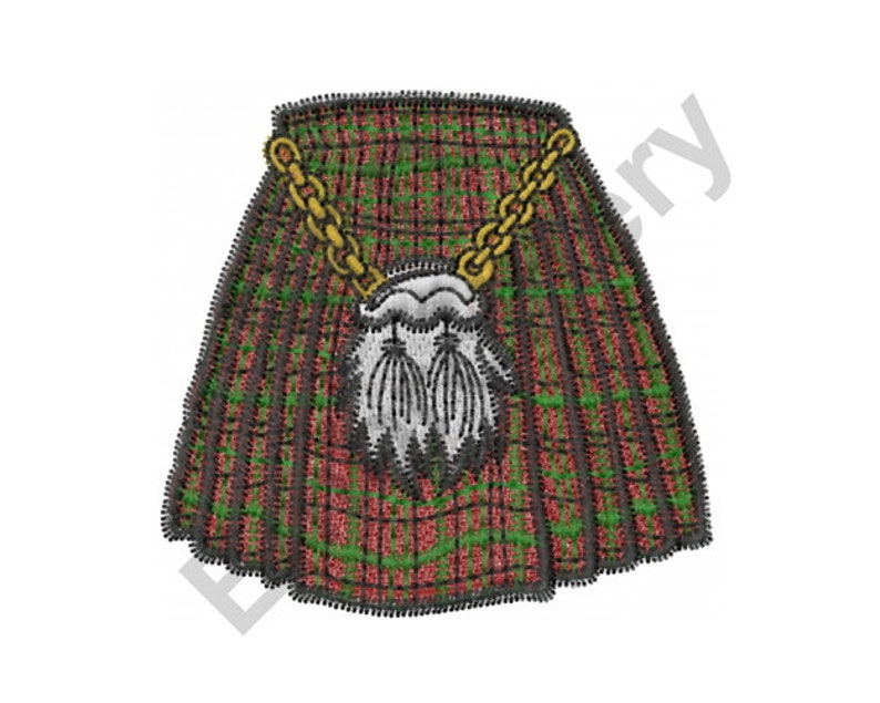 Scottish Kilt - Machine Embroidery Design, Embroidery Designs, Embroidery  Patterns, Embroidery Files, Machine Embroidery, Instant Download