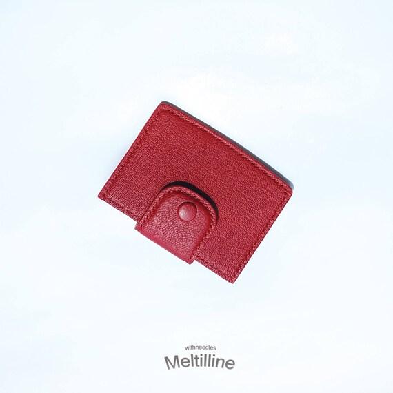 Porte-cartes en cuir / 100 % fait main / cuir portefeuille mini porte monnaie / carte portefeuille / porte carte / Simple carte portefeuille / cadeau / personnaliser