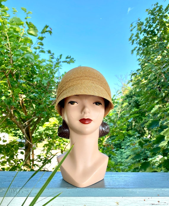 Vintage Patricia Underwood designer straw hat / S… - image 8