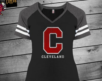 Cleveland Indians, Indians, Cleveland Shirt, Indians Women's, Go Tribe, CLE, Cleveland, Cleveland Ohio, Indians Shirt, Indians Tshirt