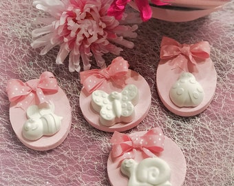 Scented Magnets Animals Baby Shower Favors, Girl Baby Shower Favors, Boy Baby Shower Favors. Set of 10