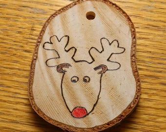 Rudolph Christmas tree decoration