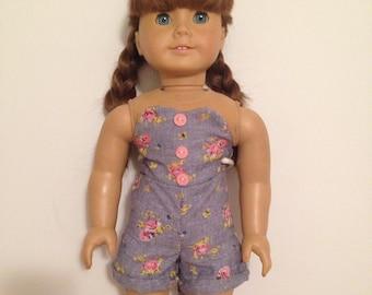 18 inch doll romper