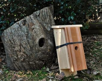 For a 'Amazon Blink Camera' oversized Bluebird House