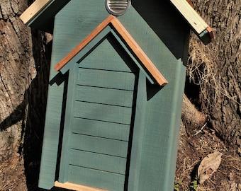 Bathouse- Victorian Style single chamber cedar roof