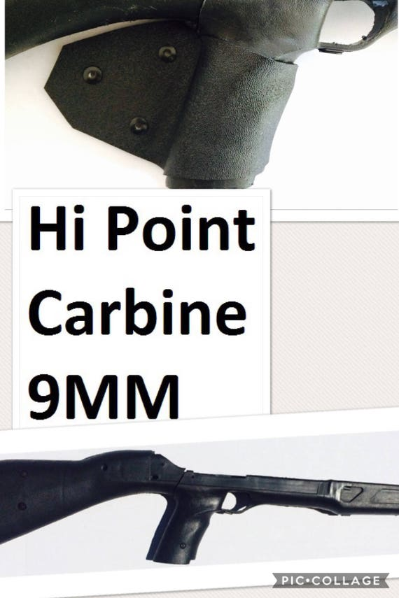 Featureless California Fin Grip Hi POINT CARBINE Legal Compliant Wrap 9mm  Ca Ny Hipoint Shark Fin