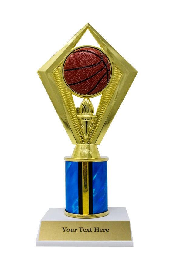 Personalized Championship Basketball Trophy Fantasy Victory Awards, 9
