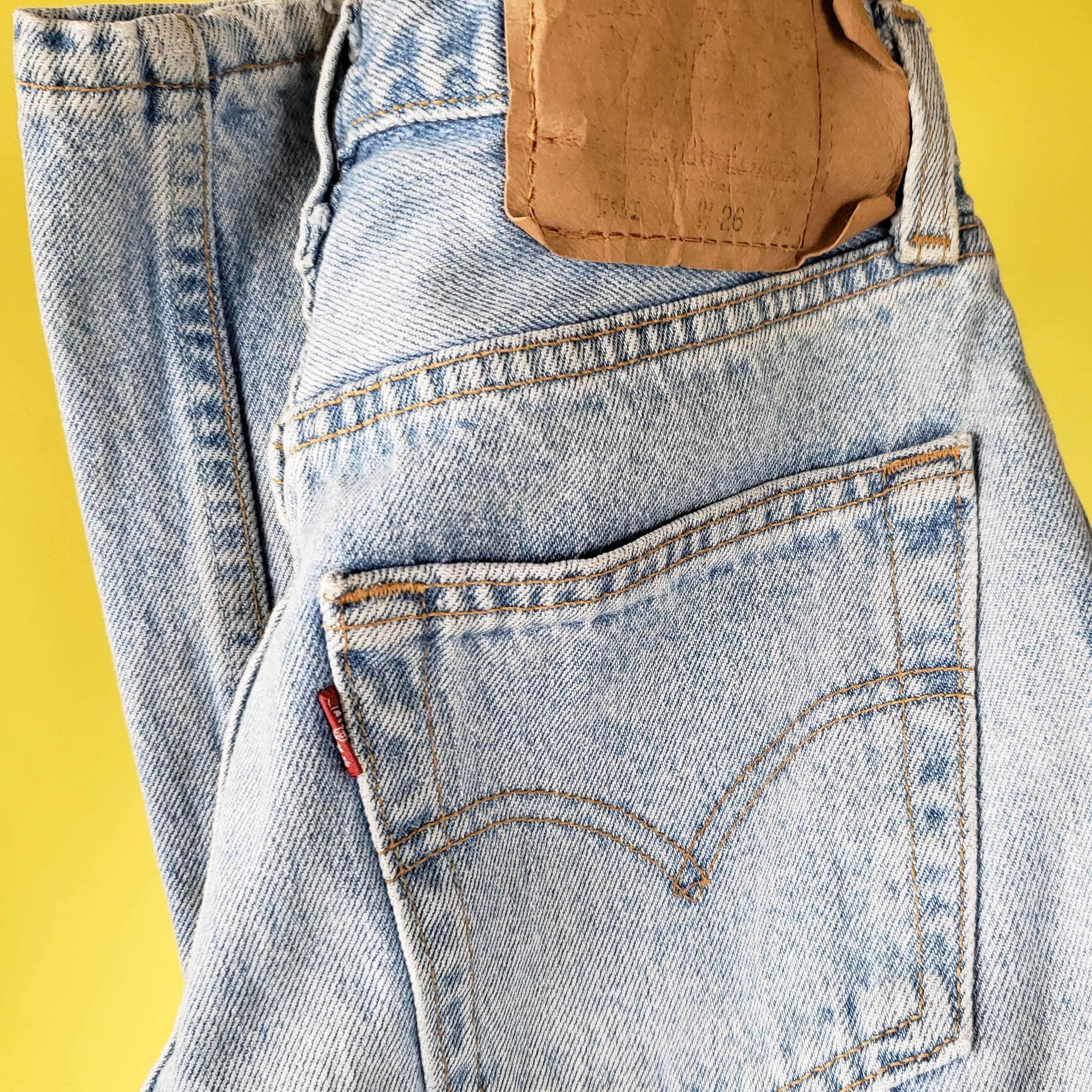 2707d38e Size 23/24 1980s Vintage Levis 501, Levi's Light Wash 501 23 24 waist, Vintage  Levis 501 Jeans 23 24, Long Tall
