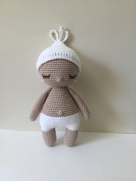 Baby Hoki Handarbeit häkeln Baby Doll Muster von Amour Fou /