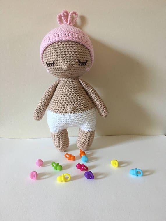Baby Hoki Handarbeit häkeln Baby Doll von Muster von Amour Fou | Etsy