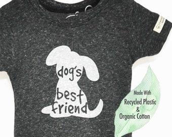 Eco Friendly Dog Shirt, Dog Rescue Kids, Kids Dog Shirt, Best Friends, Save Dogs, Dog Tshirt for Kids, Dog Shirt, Eco Kids
