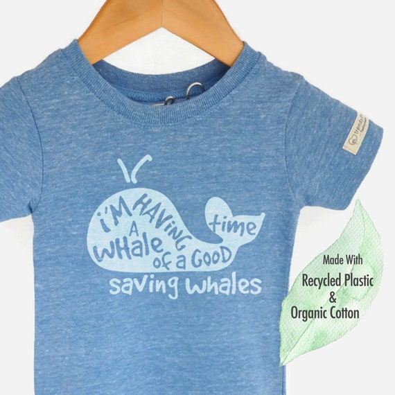 df91cfb1a73c Whale Shirt Kids Organic Kids Clothing Save the Whales