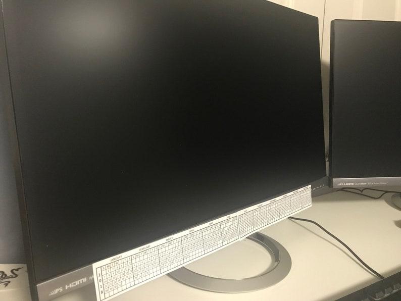 2019 Computer/Monitor Calendar - Desk Calendar
