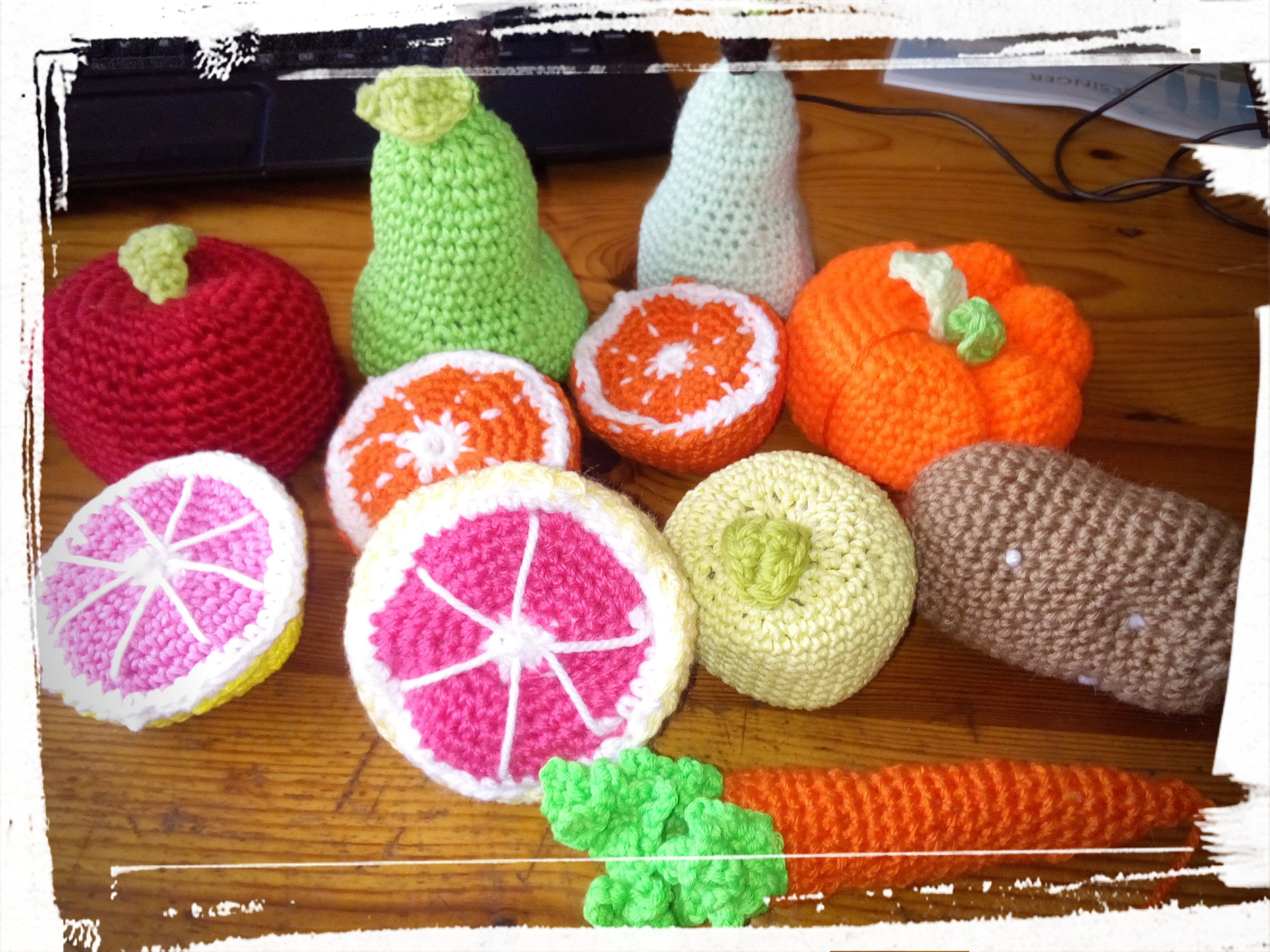 Crochet fruits and vegetables Crochet pattern #vegetables #fruits #amigurumi  #pattern #playfood | Crochet fruit, Crochet plant, Crochet patterns | 2250x3000