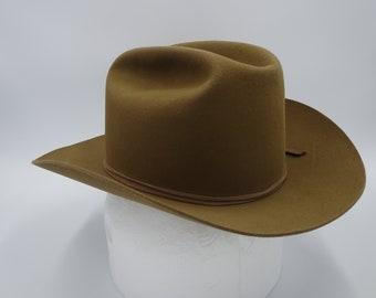 7ab9f1dd648 Resistol 3X Beaver Self Conforming Cowboy Hat 7 1 4