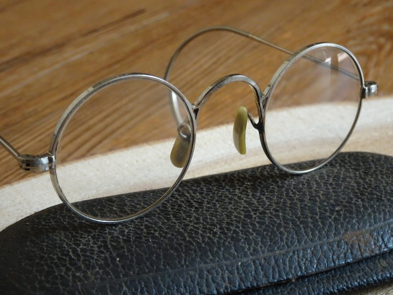 5a6518f5dda Vintage Childs Shuron Round Eyeglasses Cable Temples Mid