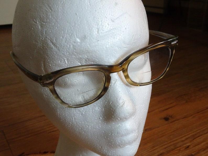 939a2c04ca6c Vintage Shuron 4620 S/C2 Tortoise Cat Eye Eyeglasses Frames   Etsy