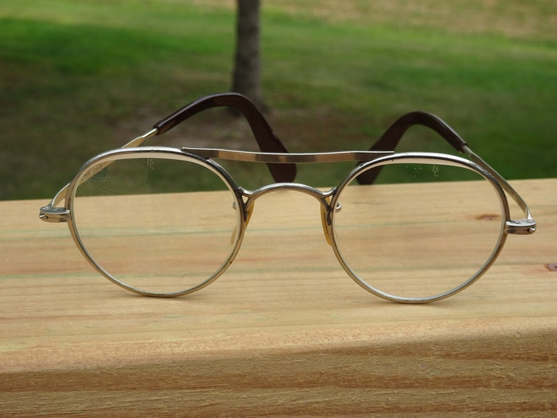 21fcae1941 Vintage Bausch Lomb AO Safety Glasses 2447 Buddy Holly