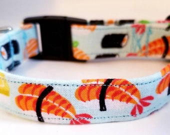 Sushi Cat Collar. Safety Buckle c7da404e0f3