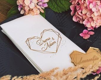 Personalized napkins, DINNER,napkins, serwetki, Bedruckte Servietten, Hochzeit, Personalized Napkins, Wedding napkins, Decorpress, Monogram