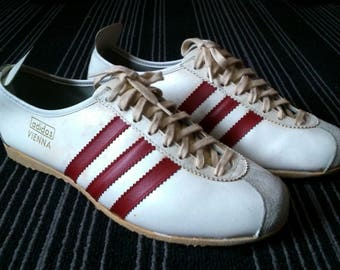 b20cac48a Super Rare 60s 70s Vintage Adidas Vienna shoes made in western germany