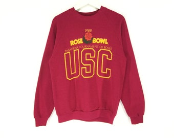 c09ccd765a8 USC Rose bowl pasadena tournament of roses vintage sweatshirt