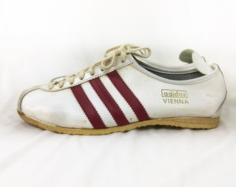 0dd57c8c36fb3e Super Rare 60s 70s Vintage Adidas Vienna shoes made in western germany