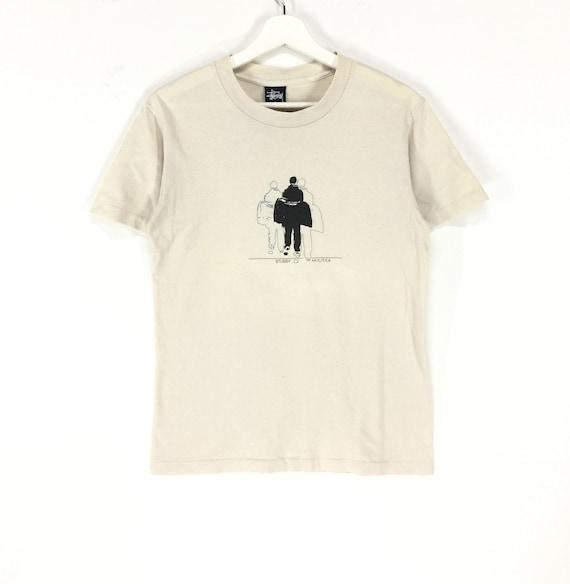 Rare!! Stussy S00 vintage shirt/stussy ny/stussy u