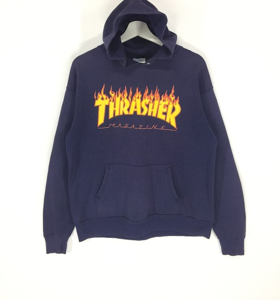 Rare!!Thrasher magazine spell out big logo vintage