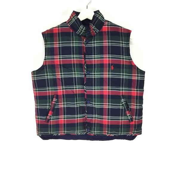 Rare!! Polo ralph lauren plaid checkered vintage r