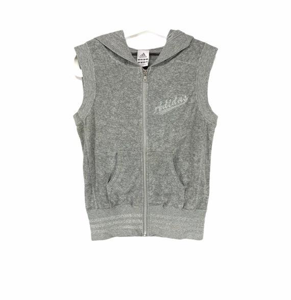 Rare!! Adidas embroidered logo hoodies sweater